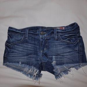 AG Dark Blue Jean Shorts